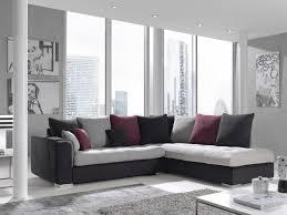 canapé gris foncé canape d angle v3 gris clair gris fonce fushia meubles