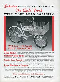 Schwinn Cycle-Truck Ad - American Bicyclist - May 1939 | Cycling ... Our Vintage Collection Ace Bicycle Shop Mighty Fine 1939 Schwinn Cycle Truck Bike Pinterest Cycling Wheels Of The Past Current Display By Year New Era Bicycles Restoration 1960s Columbia Rambler Jon Marinellos Youtube Prewar Cycle Truck The Classic And Antique Exchange For Sale 500 Sold Fs 1961 Hauls Freight Urban Adventure League Pacific Antique Life On 2 Other Stuff