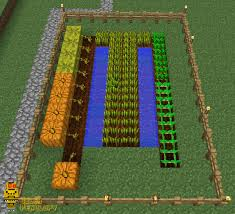 Minecraft Pumpkin Farm Tower by Farming In Minecraft 10 Steps With Pictures