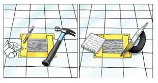 how to replace a broken tile homebuilding renovating