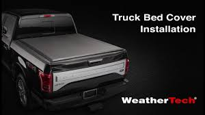 WeatherTech Roll Up Truck Bed Cover Installation Video - YouTube