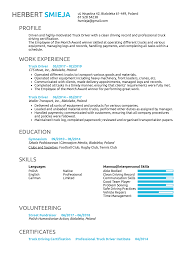 Resume Examples By Real People: Truck Driver Resume Example | Kickresume Awesome Stunning Bus Driver Resume To Gain The Serious Delivery Samples Velvet Jobs Truck Sample New Summary Examples For Drivers Awesome Collection Image Result Driver Cv Format Cv Examples Free Resume Pin By Pat Alma On Taxi Transit Alieninsidernet How Write A Perfect With Best Example Livecareer No Experience Unique School Job Description Professional And Complete Guide 20
