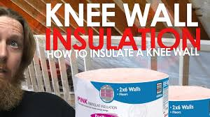 Insulated Cathedral Ceiling Panels by Attic Insulation How To Insulate A Knee Wall Youtube
