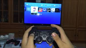 Connect PS3 controller DualShock 3 to Playstation 4 wirelessly