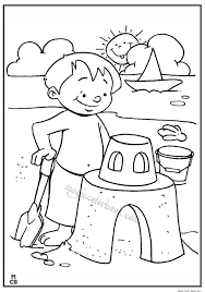 Free Summer Coloring Pages Kids