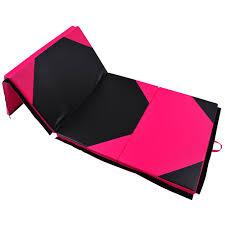 gymnastics floor mats uk folding mat 5 cm thick pink black