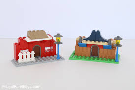 100 Small Lego House 17 Beginner LEGO Project Ideas With Classic Tubs Frugal Fun For