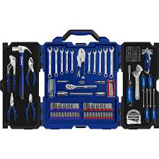 Kobalt 7 Wet Tile Saw With Stand by Kobalt 175 Piece Household Tool Set With Hard Case Cool Tools