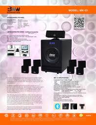100 24 Casa Mk BNW Acoustics MK33 Home Theater System BNW Acoustics