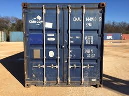 100 20 Foot Shipping Container For Sale Standard San Antonio CMAU1449109