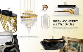 bathroom trends open concept spaces trend moodboards trendbook