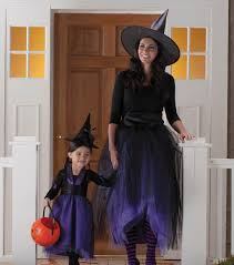 Easy To Make Mother And Daughter Witch Costume For Halloween ... Halloween Witches Costumes Kids Girls 132 Best American Girl Doll Halloween Images On Pinterest This Womens Raven Witch Costume Is A Unique And Detailed Take My Diy Spider Web Skirt Hair Fascinator Purchased The Werewolf Pottery Barn Dress Up Costumes Best 25 Costume For Ideas Homemade 100 Witchy Women Images Of Diy Ideas 54 Witchella Crafts Easier Sleeves Could Insert Colored Panels Girls Witch Clothing Shoes Accsories Reactment Theater