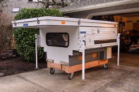 Camper Dolly Truck Camper Camping And Rv In Gorgeous Four Wheeled ...