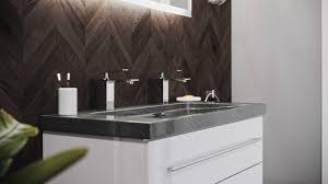 badmöbel granit g654 damo 100 2 hahnlöcher weiß hochglanz led spiegel 100 cm
