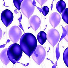 Purple Balloons from Relay For Purple Balloons from Relay For Life of Greater Milford part of