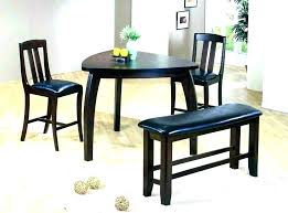 Compact Table And Chairs Round Dining Kitchen Trendy Sets 4