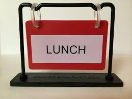 Printable Lunch Break Signs