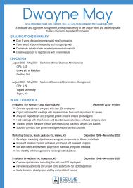 Professional Resume Samples 2018