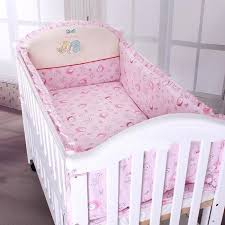Pink Color Baby Bedding Sets SetsCover And Filler For The Crib