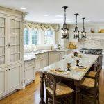 Best French Country Style Galley Kitchen Reviews
