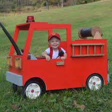Little White House Blog: Happy Halloween! Our Radio Flyer Fire Truck ...