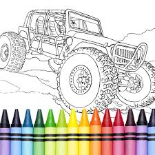 Rc Car Colouring Pages View Larger