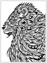 Adult Color Page Free Wallpaper Uploaded Coloring Lion Head Pages For Adults Sheet Face
