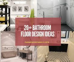 Bathroom Floor Design Ideas 20 Beautiful Bathroom Flooring Ideas And Designs In 2021