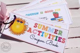 Summer Activities Coupon Book Beauty Shot