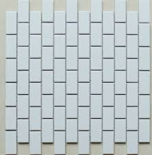 white porcelain tile ceramic mosaic subway backsplash tiles brick