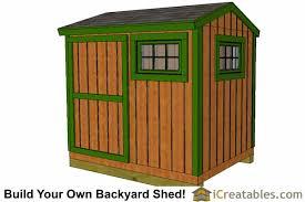 6x8 shed plans 6x8 storage shed plans icreatables com