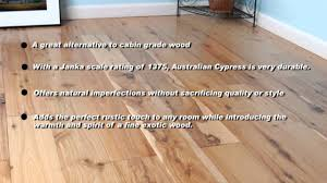 Fabuloso On Wood Floors by Australian Cypress Flooring Australlian Cypress Floors Youtube