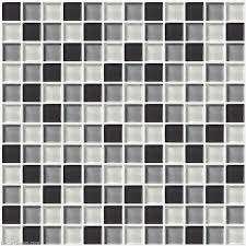wall tile stickers bathroom tile black grey white glass ceiling