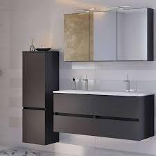 badezimmer möbel serie arlon 03 matt grau selbst zusammenstellen
