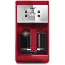 Bella Linea 12 Cup Programmable Coffee Maker Red