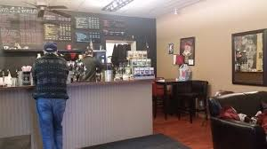 Red Eye Express Coffee Front Counter Area
