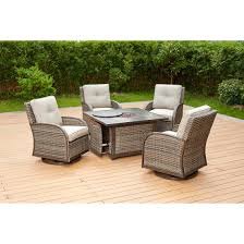 Berkley Jensen Casco Bay 5-Pc. Fire Pit Chat Set - BJs WholeSale Club Hanover Summer Nights 5piece Patio Fire Pit Cversation Set With Amazoncom Summrnght5pc Zoranne 4 Chairs Livingroom Table With Outdoor Gas And Tables Sets Fniture Fresh Ding Shop Monaco 7piece Highding 6 Swivel Rockers And A The Greatroom Company Kenwood Linear Height Alinum Cheap Chair Beautiful Comet 8 Wicker Chat Tank Awesome Top 10 Envelor Oval Brown 7 Piece Poker Stunning