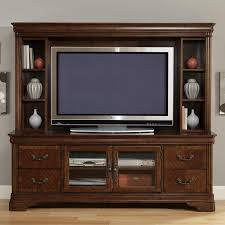 Entertainment TV Stand & Hutch By Liberty Furniture | Wolf And ... Ertainment Armoire For Flat Screen Tv Abolishrmcom Wall Units Teresting Wall Unit Stand Tv Eertainment Broyhill Living Room Center 3597 Gray Tv Stands Fniture The Home Depot Centers Havertys Ana White 60 Flat Screen Led Diy Camlen Antiques And Country Armoires Cabinets Glamorous Oak Units Centers 127 Best Upcycled Images On Pinterest Solid Rosewood Center Cabinet Aria Armoire In Antique Vintage Smoked Pecan Corner Small Computer Desk Bedroom Wardrobe