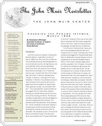 100 Daily Page Isthmus The John Muir Newsletter SpringSummer 2011