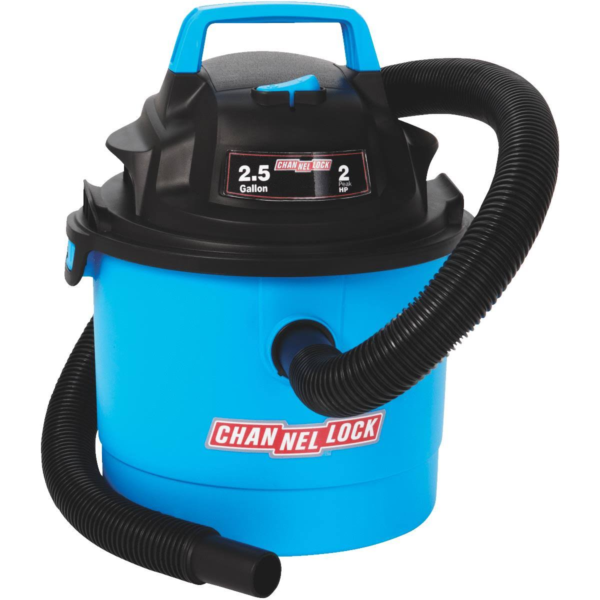 Channellock Wet / Dry Vacuum - 2.5gal