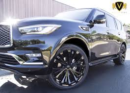 Infinity QX80 With Vogue 24