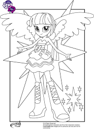 Coloriage Princesse Twilight Sparkle Beau Formal Drawing At