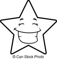 Grin Clipart Black And White 6