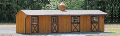 Shed Row Barns For Horses by Keystone Barns Supplier Of Horse Barns Equine Sheds U0026 Door Hardware