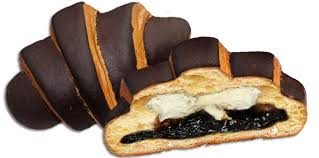 Croissant BOM BIK Chocolate Exclusive With Prunes And White