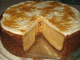 Gingersnap Pumpkin Pie Cheesecake by Pumpkin Cheesecake With Caramel Swirl Tastydesu Where