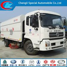 4x2 Dongfeng Sweeper Trucks High Quality Road Sweeper Truck Dongfeng ...