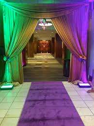 Burlap Mardi Gras Door Decorations by Mardi Gras Event Entrance Grand Entrances Pinterest