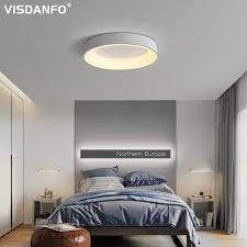 weiß grau moderne led deckenleuchten für wohnzimmer