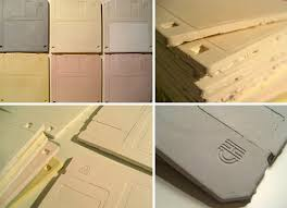 floppy disk ceramic tiles would make for one nerdy backsplash
